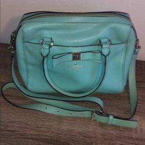 Blue Kate spade bag